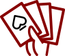 hand of cards icon